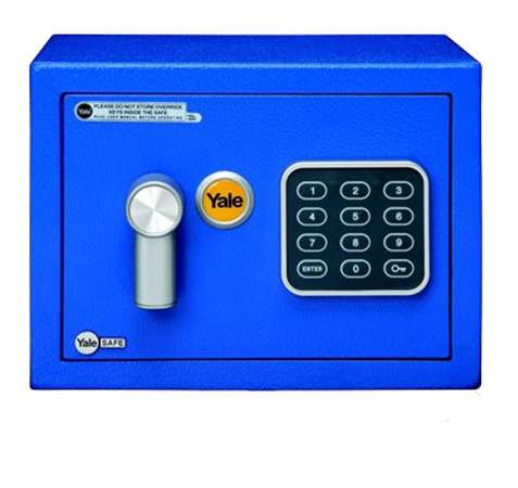 Yale Mini Safe Blue